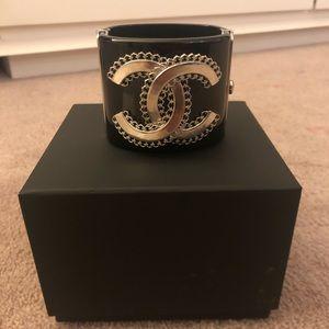 Chanel CC Filagree Cuff